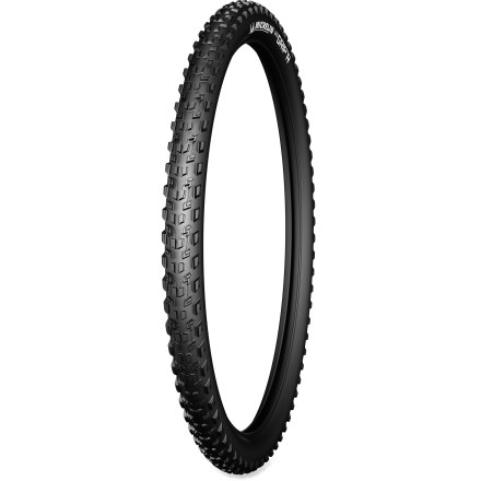MTB Tubeless-ready and with a multipurpose tread, this Michelin Wild Grip'R 2 29er foldable mountain bike tire delivers great all-around performance on the trails. - $29.93