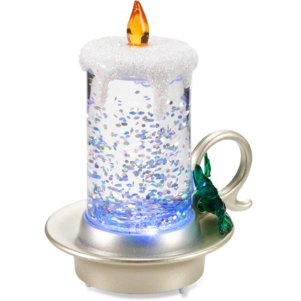 Entertainment Despite its small size, the Midwest CBK Candle Mini Shimmer will be a big hit, lending holiday ambience to any nook or cranny. Made of durable acrylic. Includes 1 CR2032 cell battery. - $6.00