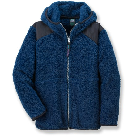 The Molehill High-Loft Hooded fleece jacket is a great choice for kids on the go. Polartec(R) Thermal Pro&#!74; polyester fleece has a knit exterior and a soft, brushed inner face; it's breathable, quick-drying, warm and durable. Special buy. - $25.83
