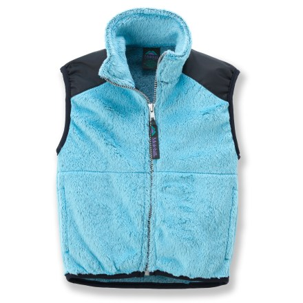 The Molehill High-Loft Fleece vest keeps your toddler's core warm when venturing outside. Polartec(R) Thermal Pro(R) fleece is soft and compressible while efficiently trapping warmth and managing moisture for superb comfort. Beefy full-length zipper for easy on/off; stretch binding at armholes and hem improve fit. Hand pockets. Special buy. - $16.83