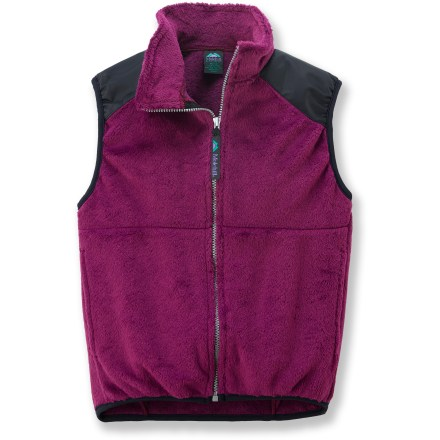 The Molehill High-Loft Fleece vest is a sound choice for kids on the go. Polartec(R) Thermal Pro(R) fleece is soft and compressible while efficiently trapping warmth and managing moisture for superb comfort. Beefy full-length zipper for easy on/off; stretch binding at armholes and hem improve fit. Hand pockets. Special buy. - $16.83