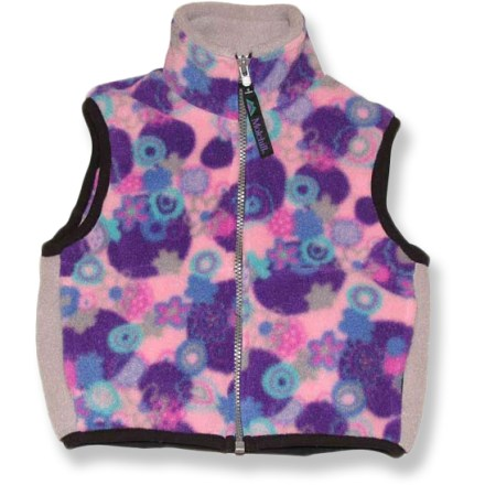 The versatile Molehill Fleece vest is a sound choice for kids who are on the move. Soft, compressible Polartec(R) fleece traps warmth and wicks moisture for superb comfort. Full-length zipper allows easy on/off; stretch binding at armholes and hem improve fit. On-seam hand pockets. Closeout. - $7.73