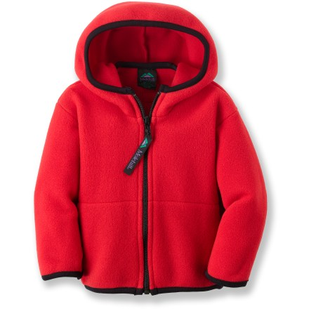 The Molehill Hooded Fleece jacket is a great choice for little ones that need extra warmth. Polyester fleece is breathable, quick-drying, warm and durable. Hand pockets. Special buy. - $21.83