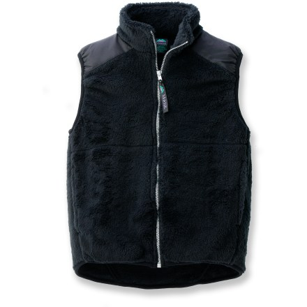 The Molehill High-Loft Fleece vest is perfect for keeping your kid warm. Polartec(R) Thermal Pro(R) fleece is soft and compressible while efficiently trapping warmth and managing moisture for superb comfort. Beefy full-length zipper for easy on/off; stretch binding at armholes and hem improve fit. Hand pockets. Special buy. - $20.83