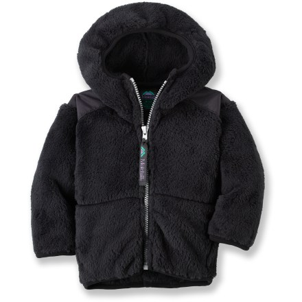 The Molehill High-Loft Hooded fleece jacket keeps toddlers and infants warm and comfortable during cold-weather play. Polartec(R) Thermal Pro(R) polyester fleece has a knit exterior and a soft, brushed inner face; it's breathable, quick-drying, warm and durable. Special buy. - $21.83