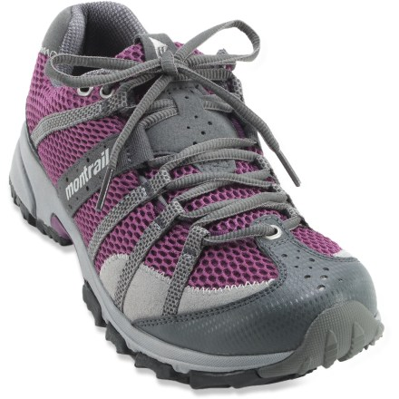 Fitness The Montrail Mountain Masochist trail-running shoes are built for long-distance runs. - $64.73