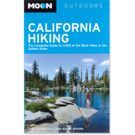 Camp and Hike Moon California Hiking will help you find more than 1,000 choice routes throughout the state, ranging from coastal treks to wine country hikes to northern Sierra jaunts. - $24.98