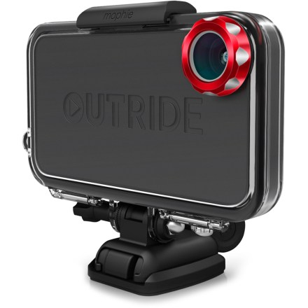 Surf The mophie OUTRIDE Multisport kit puts the power in your hands to record and share tricks, tracks, rides and epic moments by turning your iPhone(R) 4 or 4s into an action sports camera. - $6.83