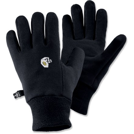 Fitness These Mountain Hardwear Power Stretch(R) gloves fit snugly on your hands, offering great dexterity and warmth. - $7.83