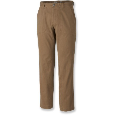 Camp and Hike Tour the countryside and city streets in style and comfort with the Mountain Hardwear Loafer pants. - $36.83