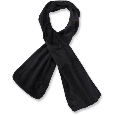Wrap up in the cozy warmth of the Mountain Hardwear Posh Scarf 2. Soft and silky polyester fleece blocks wind and cold. - $16.93