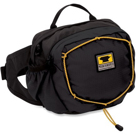 Fitness The Mountainsmith Kinetic TLS waistpack is made with recycled materials, and stashes the hiking, travel and fitness essentials that you can't imagine leaving behind. - $26.93
