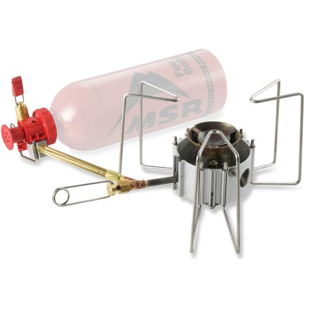 Camp and Hike For the international backpacking gourmet, the multi-fuel MSR DragonFly stove has the most adjustable flame of any liquid fuel burning stove. - $139.95