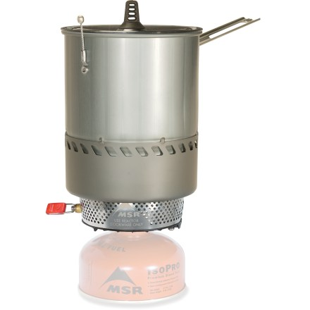 Camp and Hike Whether you're high atop an alpine peak or hunkered down after a day of hiking, the MSR Reactor stove will perform in the worst of weather. - $219.95