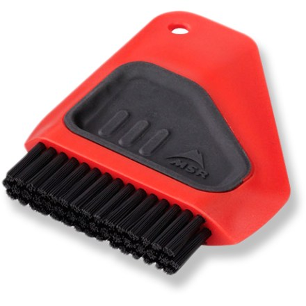 Camp and Hike The MSR Alpine Dish brush/scraper helps you get your pots and pans sparkling clean. - $4.95
