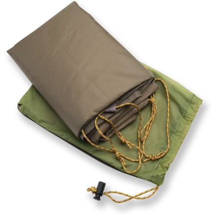 Camp and Hike Use this lightweight nylon footprint under your MSR Nook 2 tent to protect its floor from abrasion and wear. - $29.93