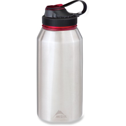 Camp and Hike The MSR AlpineTM water bottle is made of 18-8 stainless steel to stand up to your adventurous lifestyle. - $14.83