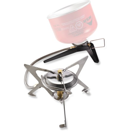 Camp and Hike The MSR WindProTM II backpacking stove maintains the efficiency and versatility of the original WindPro while adding the ability to burn inverted fuel canisters for cold-weather performance. - $99.95