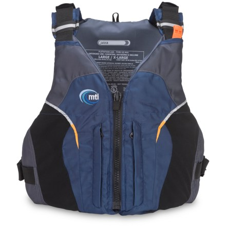 Kayak and Canoe The MTI Java PFD offers style, comfort and safety at a great value. - $66.93
