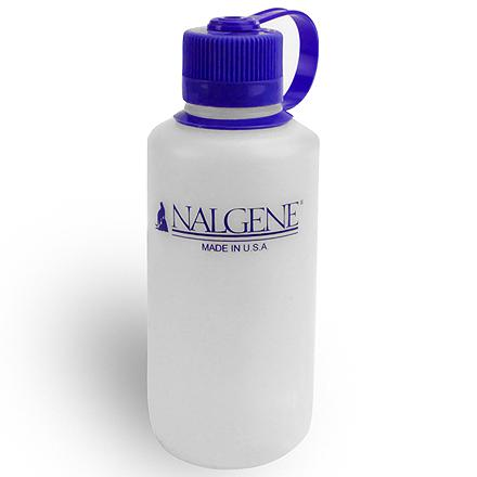 Camp and Hike The Nalgene 16 fl. oz. Narrow-Mouth polyethylene bottle is ideal for carrying water while walking and hiking. - $2.93