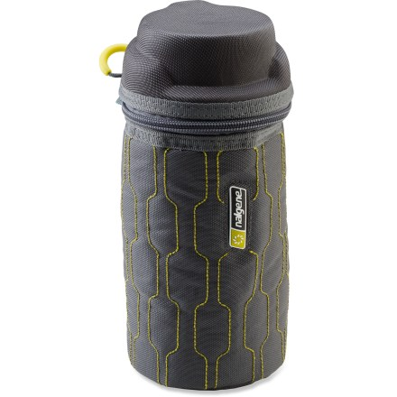 Camp and Hike Keep liquids hot or cold longer with the Nalgene Zippered water bottle insulator. - $7.93