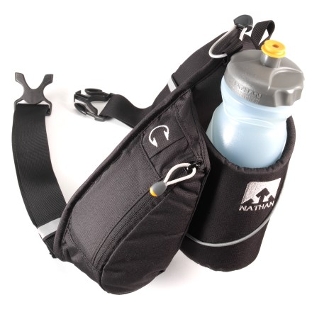 Camp and Hike With its canted bottle design for easy grabbing, the Nathan Trek waistpack is all about access! - $16.93