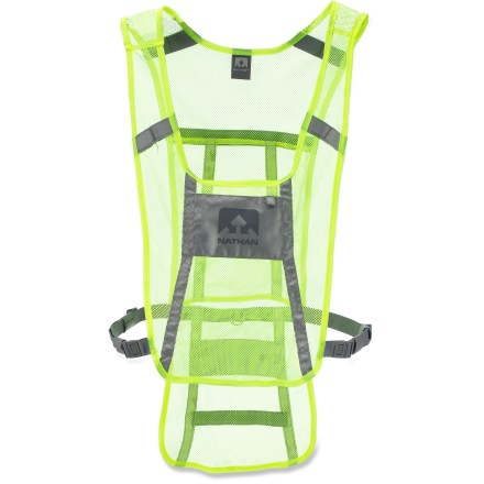 Fitness This Nathan Reflective Cycling Vest delivers 360deg reflectivit yfor visibilityin dim light from the first mile to the last. - $13.93