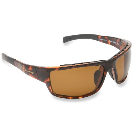 Entertainment Creating a swath of eye protection, the Native Eyewear Cable Polararized sunglasses provide sun and glare protection from sand, snow, apshalt and water. - $63.83