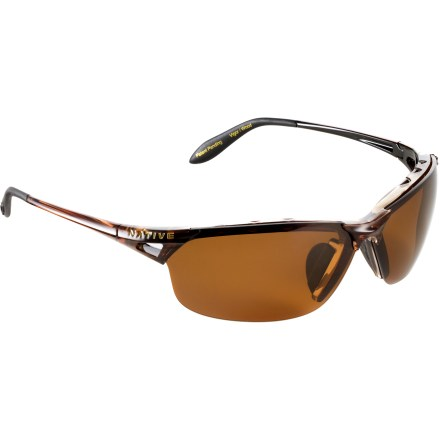 Entertainment The Native Eyewear Vigor polarized interchangeable sunglasses deliver lightweight comfort, maximum protection and stylish looks. - $119.00