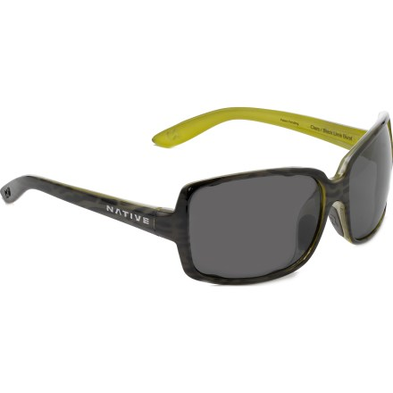 Entertainment Style and sun protection go hand in hand in these Native Eyewear Clara polarized sunglasses built with summer in mind. - $43.83
