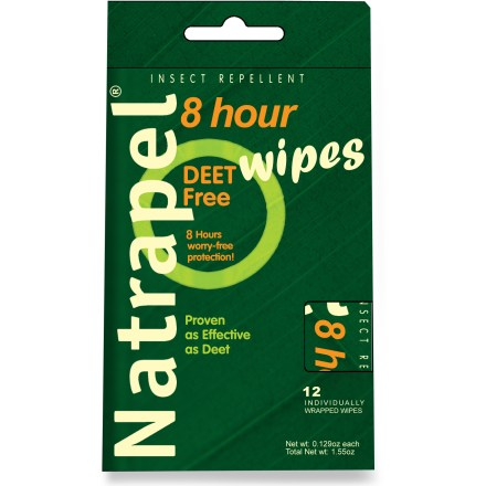 Camp and Hike Take these handy Natrapel picaridin wipes with you on all of your outdoor adventures! - $6.95