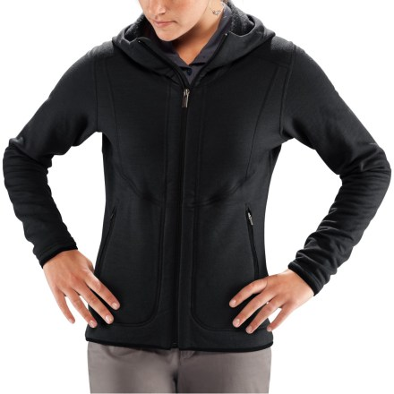 A perfect mid layer for cold-weather play, the Nau M3 hoodie is so comfy and refined, you'll never want to take it off. Made of plush merino wool, the M3 hoodie insulates, wicks away moisture and breathes nicely. Fabric is odor-resistant and never itchy. Hood offers cozy warmth in cold weather. Asymmetric front zipper and 2 hand pockets. - $118.83