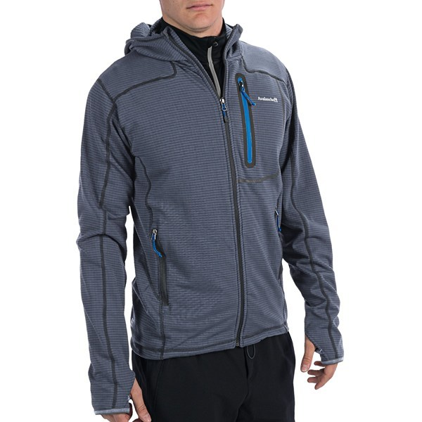 Avalanche Wear Kompass Fleece Jacket - Hooded (For Men ...