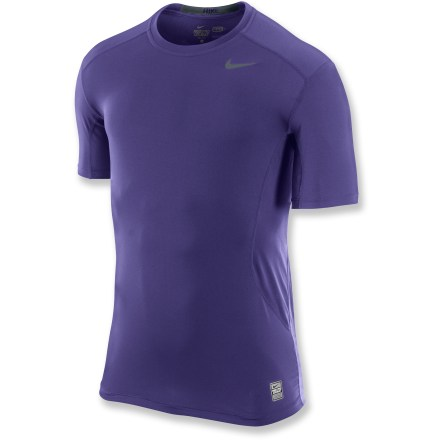 Fitness Think of this Nike Pro Combat Fitted 2.0 T-shirt as first-layer equipment for workouts in any weather, with quick-drying performance to keep you comfortable. - $13.83