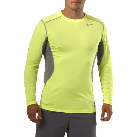 Fitness The Nike Core Fitted shirt offers quick-drying performance to keep you comfortable in any type of workout. - $21.93