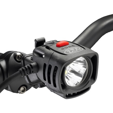 Fitness Light and bright, the NiteRider Pro 1800 LED Race bike light boasts an impressive lumens-per-gram ratio to light the route ahead of you when every gram and every second count. - $350.00