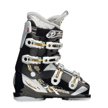 Ski Built to keep your feet warm and comfortable, the women's Nordica Cruise 65 ski boots are a great choice for fun on the mountain this season. - $99.83