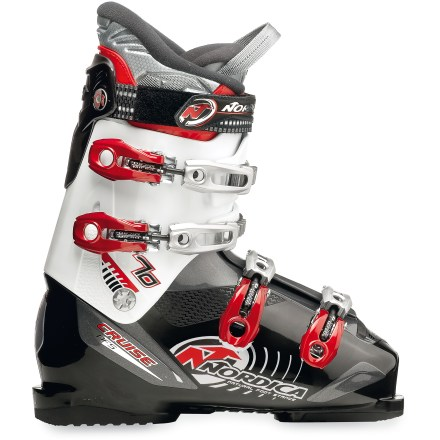 Ski Cruise the groomers in the Nordica Cruise 70 ski boots, explore the runs and enjoy your day on the mountain. - $98.83