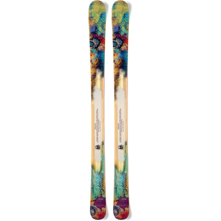 Ski Quest after deep snow on the women's Nordica Nemesis skis, and enjoy their confidence-enhancing reliability off groomed runs. - $339.83