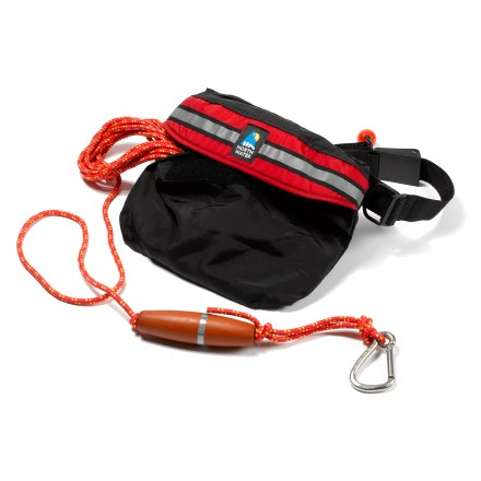 Kayak and Canoe This redesigned towline now features a quick-release belt that can be tucked into an exterior pocket, turning it into a deck-mounted towing system! - $118.95
