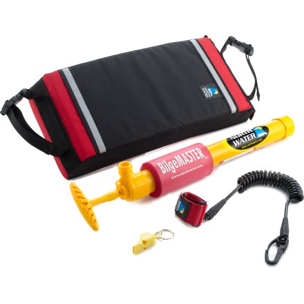 Kayak and Canoe The North Water Sea Tec safety kit comes with basic safety equipment needed for all types of kayakers: bilge pump, safety whistle, paddle leash and paddle float. - $99.93