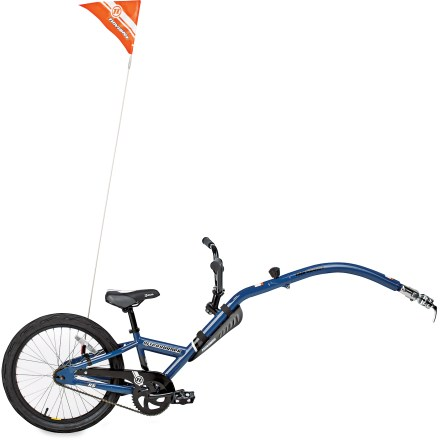 Fitness The single-speed Novara Afterburner brings a high level of user-friendliness to folding trailer bikes! - $118.93