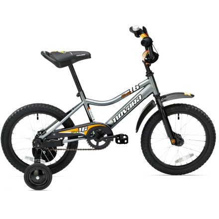Fitness Our Novara Stinger 16 in. kids' bike has a slightly bigger frame and wheels than its 12 in. sibling, offering all the fun a developing rider could want from their first bike. - $108.93