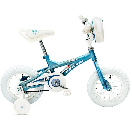 Fitness They'll be eager to get rolling aboard our 12 in. Novara Firefly bike, thanks to training wheels and a handy handlebar bag. - $96.83