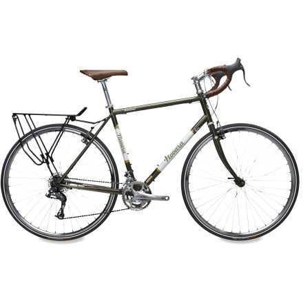Fitness Built for long miles on the pavement the Novara Randonee(R) has a smooth-riding chromoly steel frame, 30-speed drivetrain and steady wheelbase for smooth-riding journeys across town or continent. - $718.83