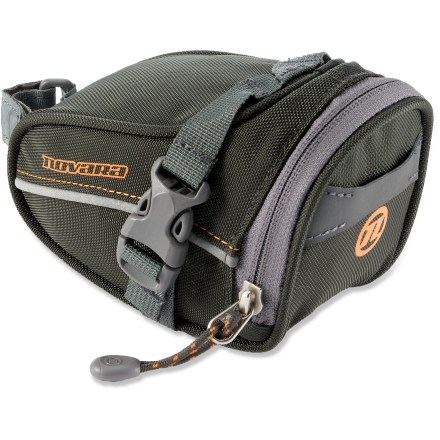 Fitness The Novara Medium Seat bag is designed to fit the essentials needed for a day of riding. Stashes tools, tube, energy gel and keys. - $13.93