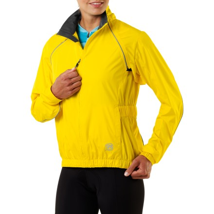 Fitness The water-resistant Novara Conversion bike jacket converts to a vest in a flash, handling with ease everything from foggy mornings to sunny afternoons. - $39.83