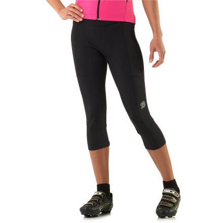 Fitness Our women's Novara Mezzo capri bike tights feature a nonbinding waist, a Gelspot chamois pad and more coverage than shorts for cool-weather cycling. - $29.83