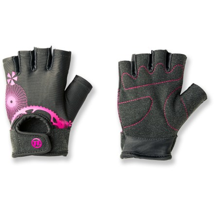 Fitness These short-finger Novara cycling gloves for girls offer young cyclists grown-up comfort for short rides and long tours. - $7.83