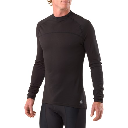 Fitness Ideal for cold, windy days and winter riding, the body-hugging Novara Base Layer long-sleeve top adds warmth under your bike jersey. - $13.83